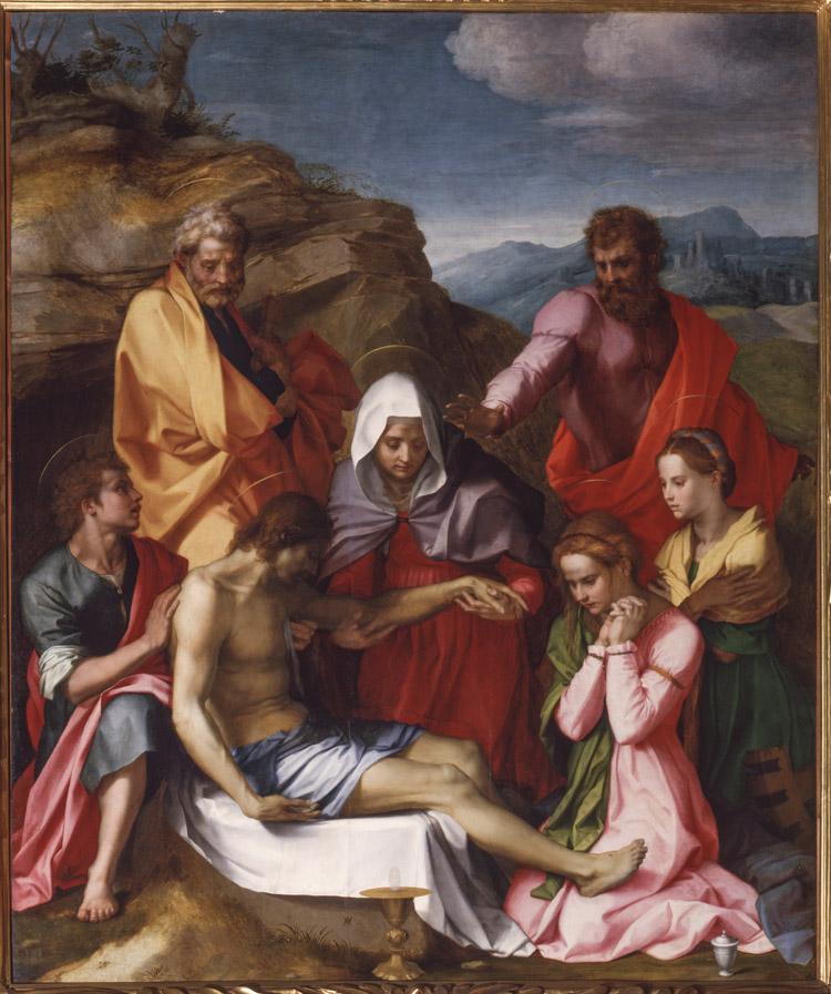 Andrea del Sarto, Compianto su Cristo morto (Pietà di Luco)