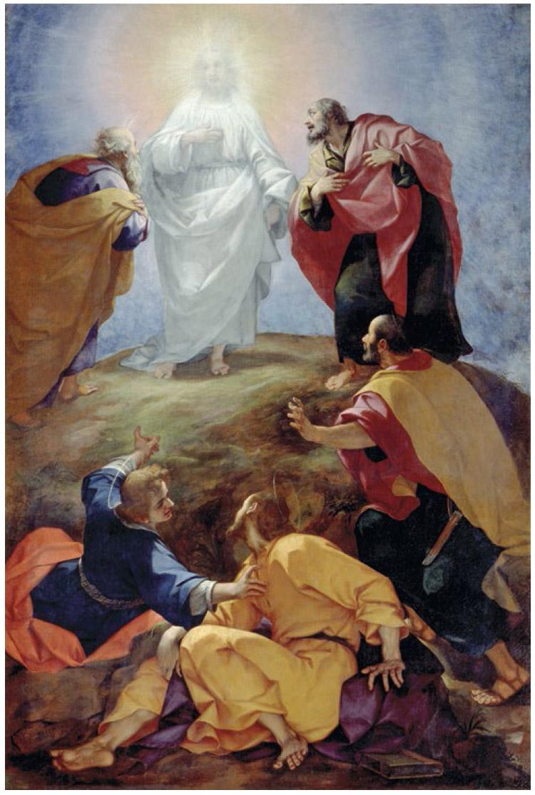 Giovan Battista Paggi, Trasfigurazione