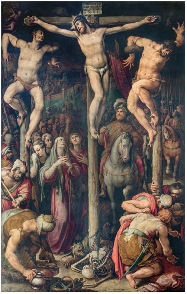 Giovanni Stradano, Crocifissione
