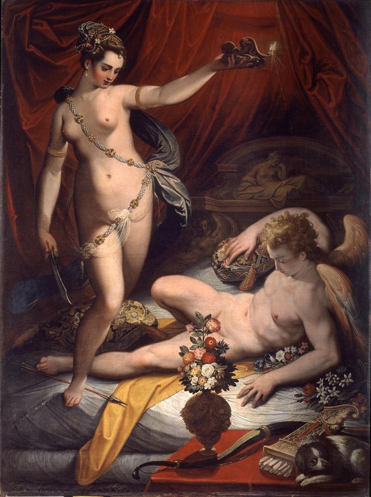Jacopo Zucchi, Amore e Psiche