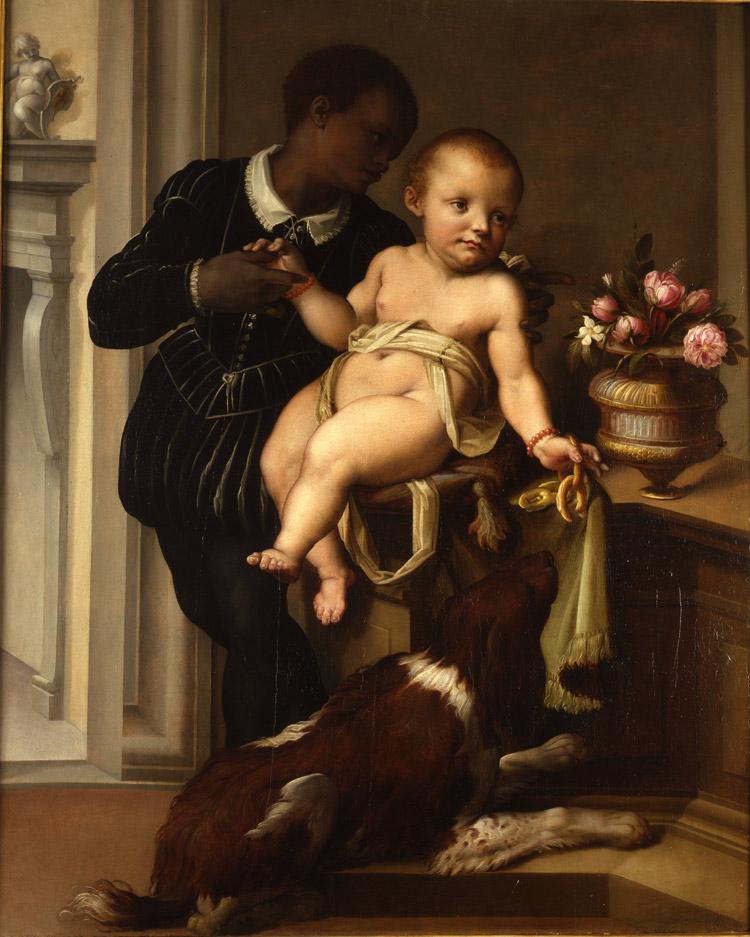 Maso da San Friano, Ritratto di Sinibaldo Gaddi