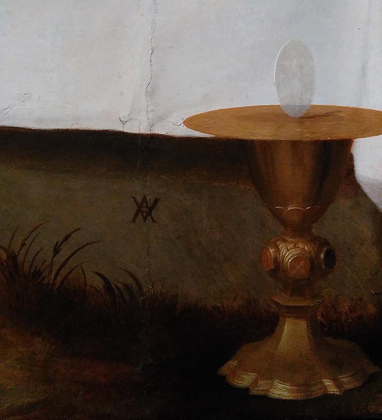 Andrea del Sarto, Compianto su Cristo morto (Pietà di Luco), dettaglio