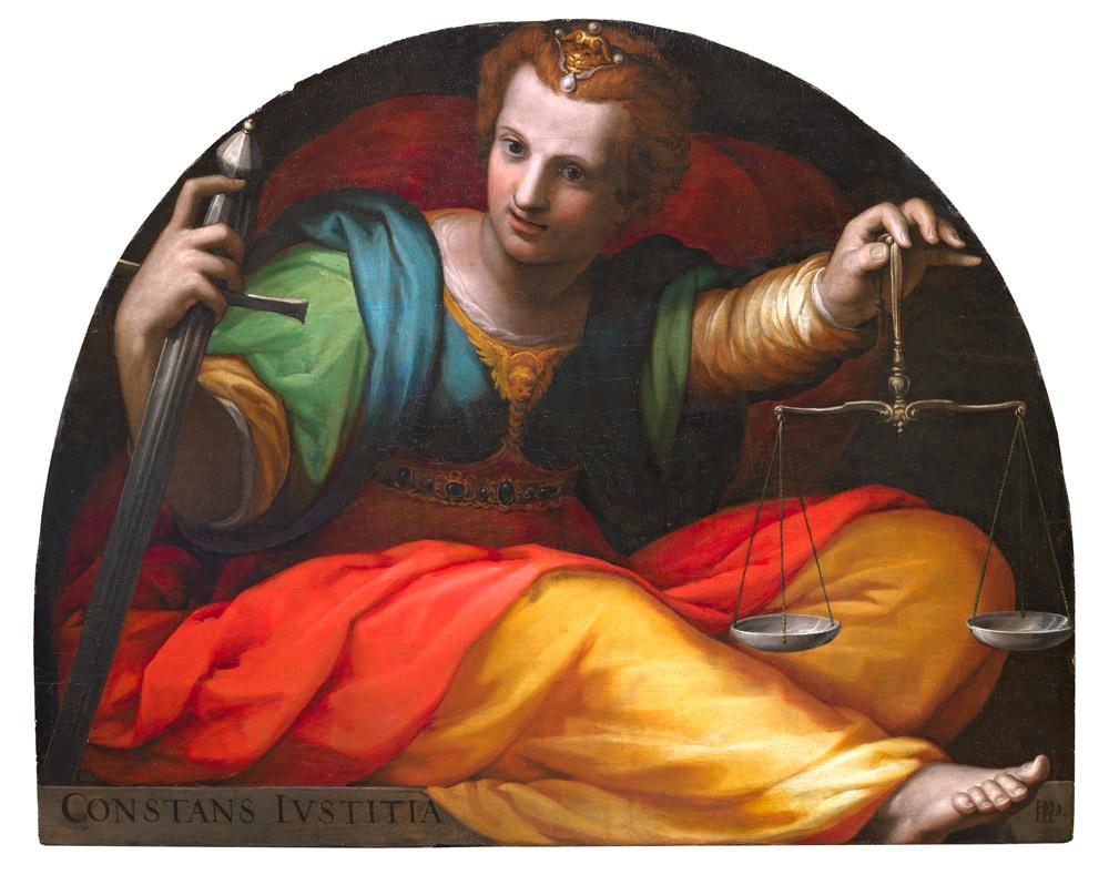 Francesco Morandini detto il Poppi, La Giustizia / Constans Iustitia