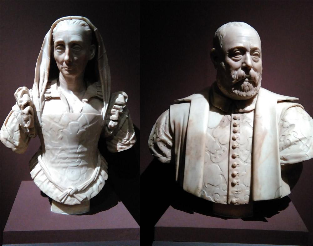 Rodolfo Sirigatti, ritratti di Cassandra e Niccolò Sirigatti