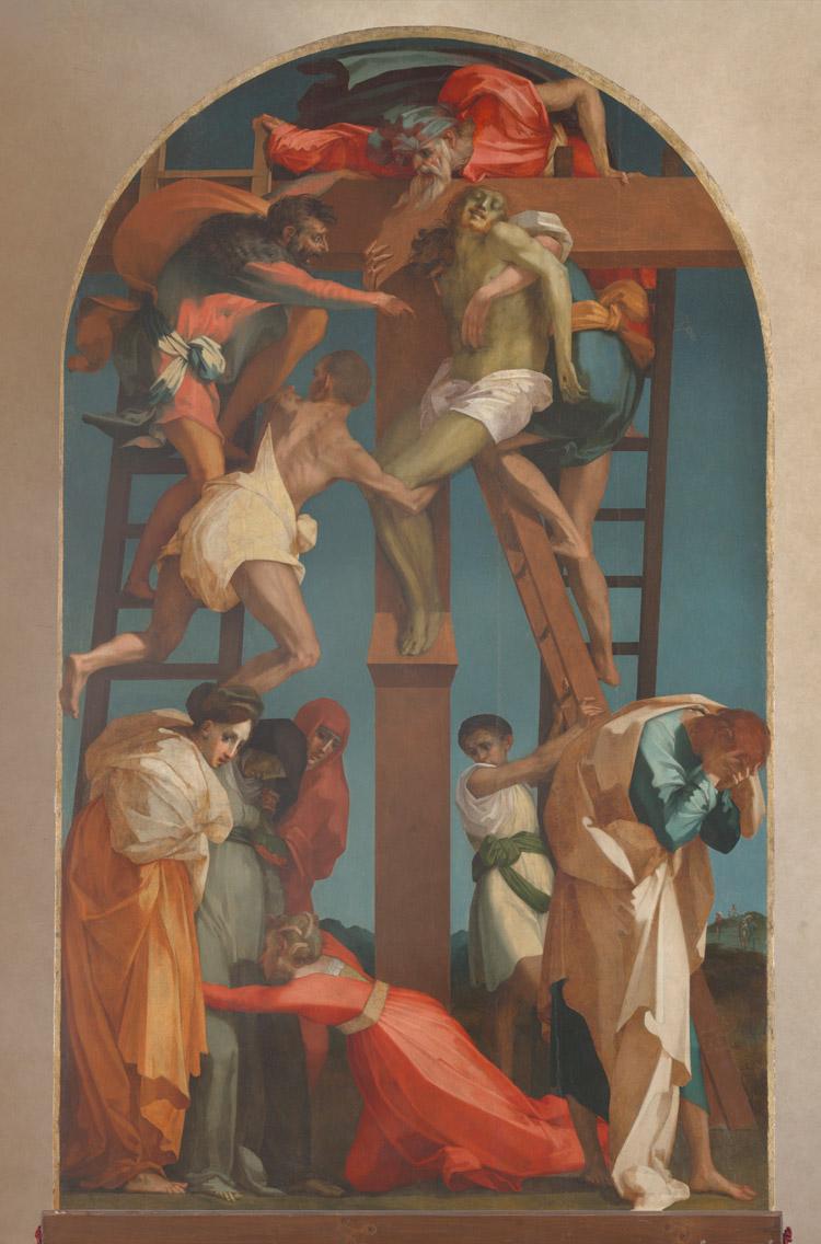 Rosso Fiorentino, Deposizione dalla croce