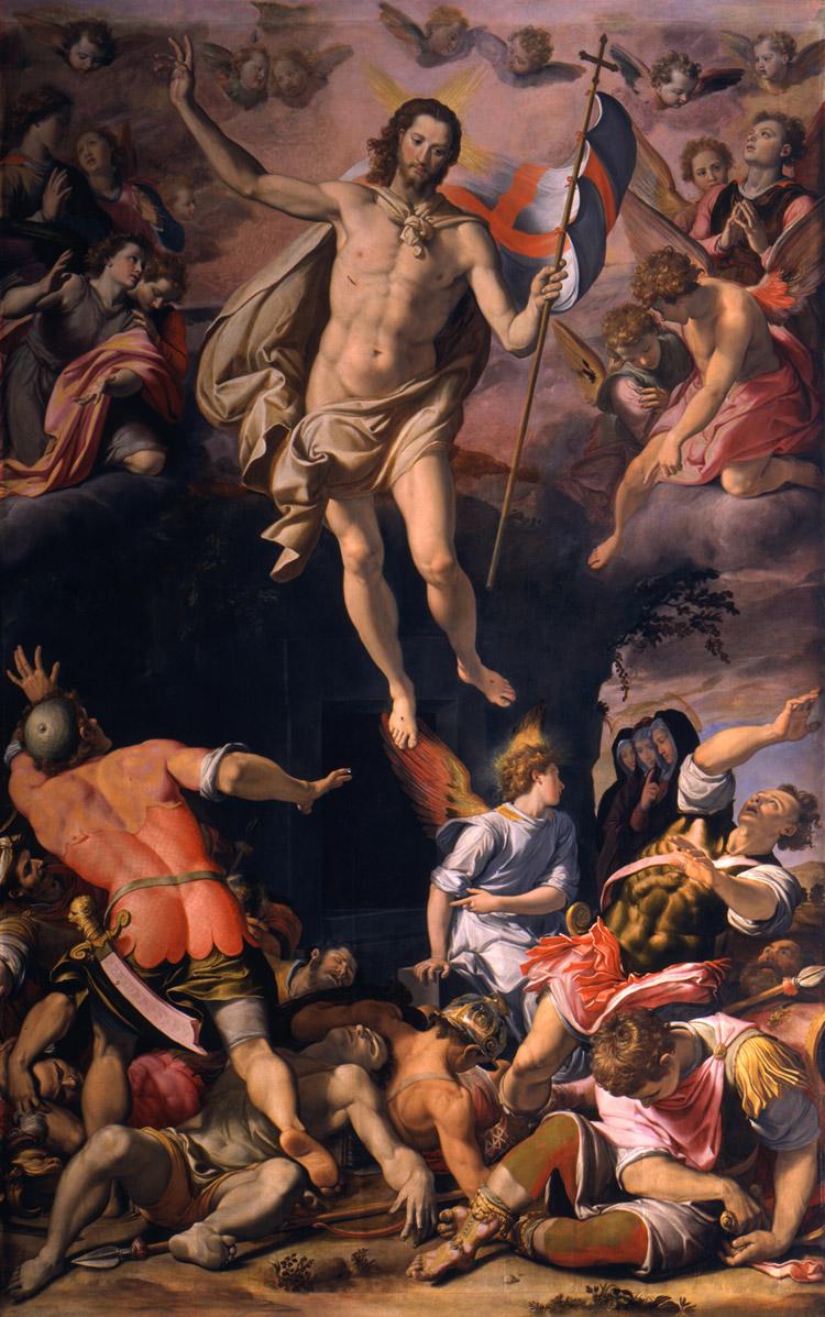 Santi di Tito, Resurrezione