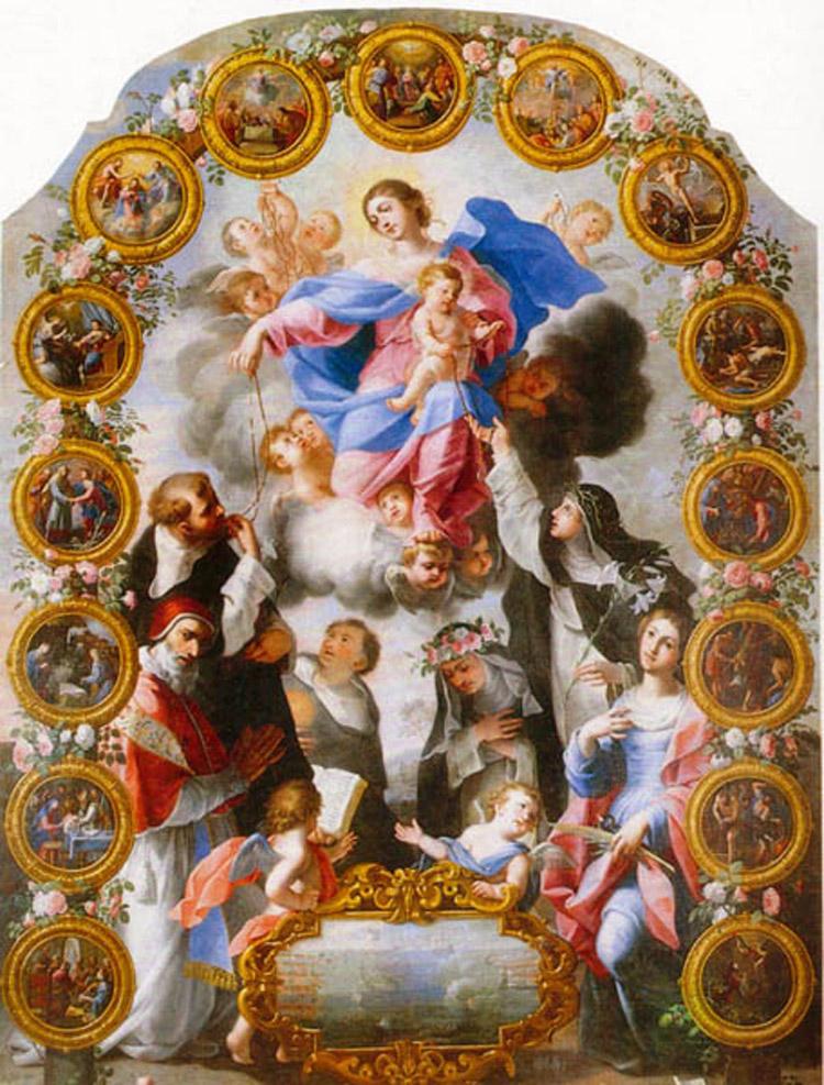 Michele Ragolia, Madonna del Rosario