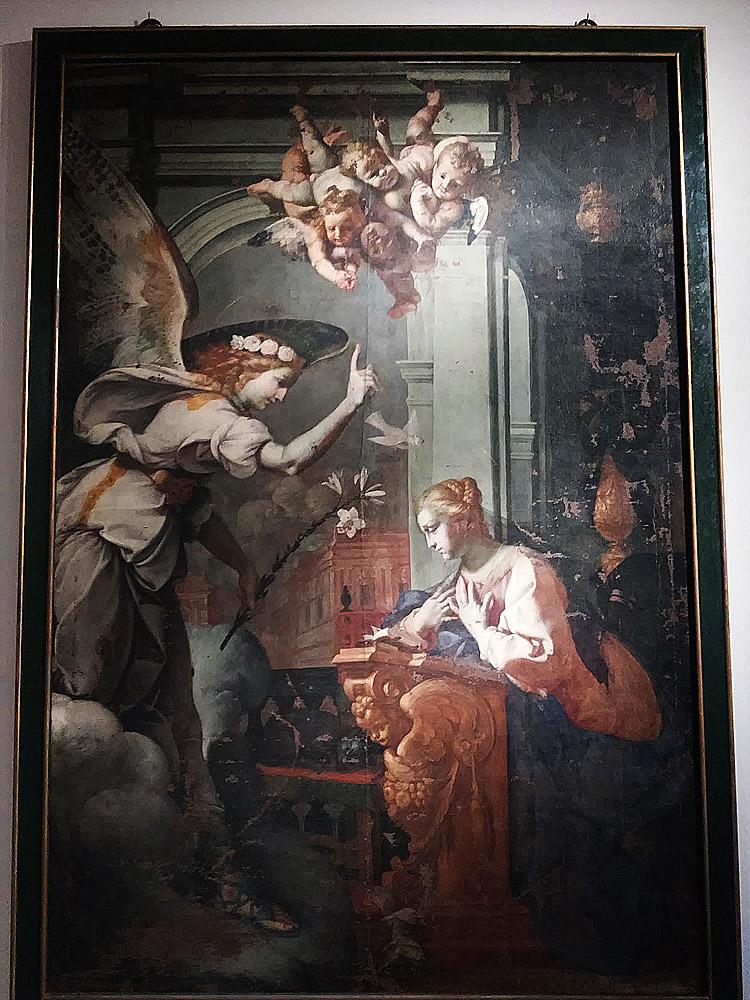 Luigi Miradori detto il Genovesino, Annunciazione