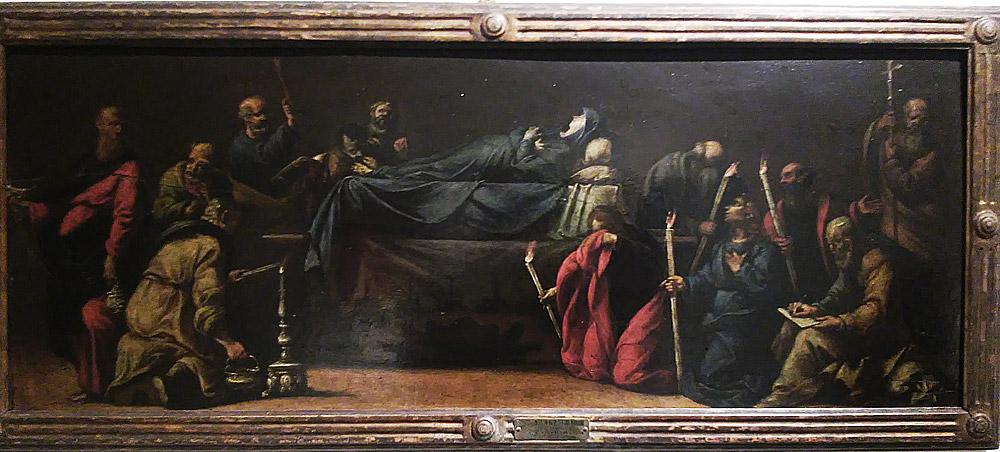 Luigi Miradori detto il Genovesino, I funerali della Vergine