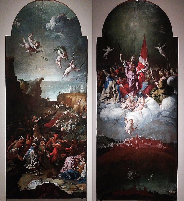 Luigi Miradori detto il Genovesino, Martirio e Gloria di sant'Orsola