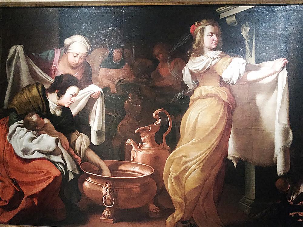 Luigi Miradori detto il Genovesino, Nascita della Vergine