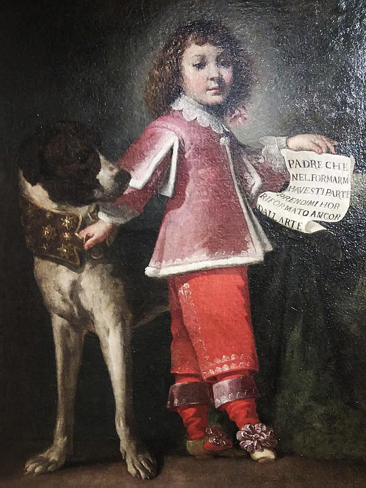Luigi Miradori detto il Genovesino,  Ritratto di Sigismondo Ponzone