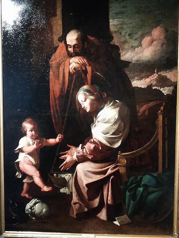 Luigi Miradori detto il Genovesino, Sacra Famiglia