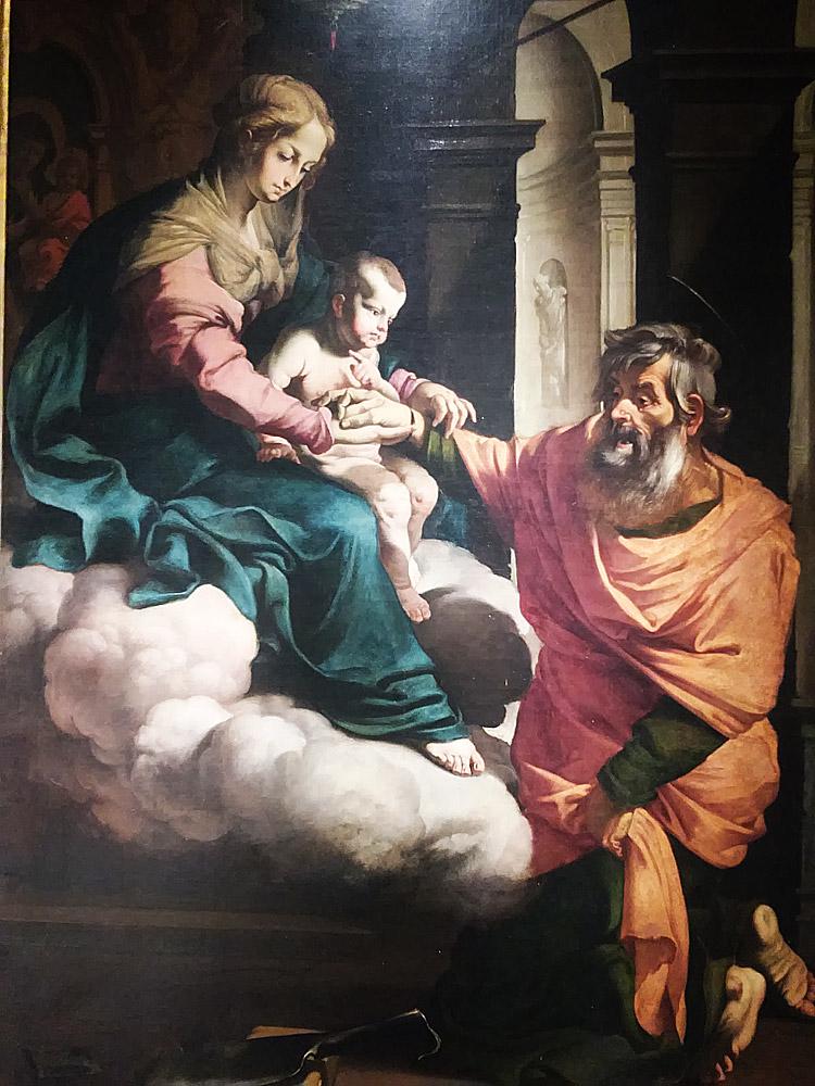 Luigi Miradori detto il Genovesino, Miracolo di san Giovanni Damasceno