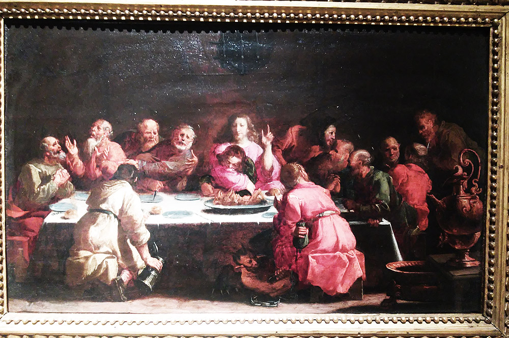 Luigi Miradori detto il Genovesino, Ultima cena