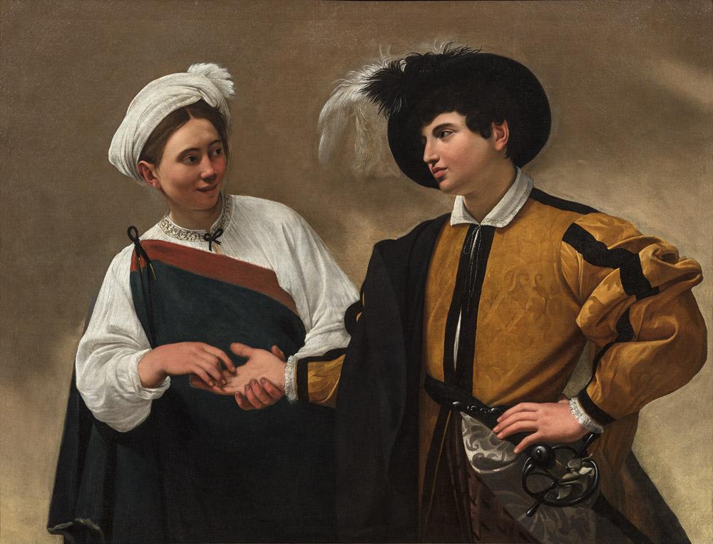Caravaggio, La buona ventura