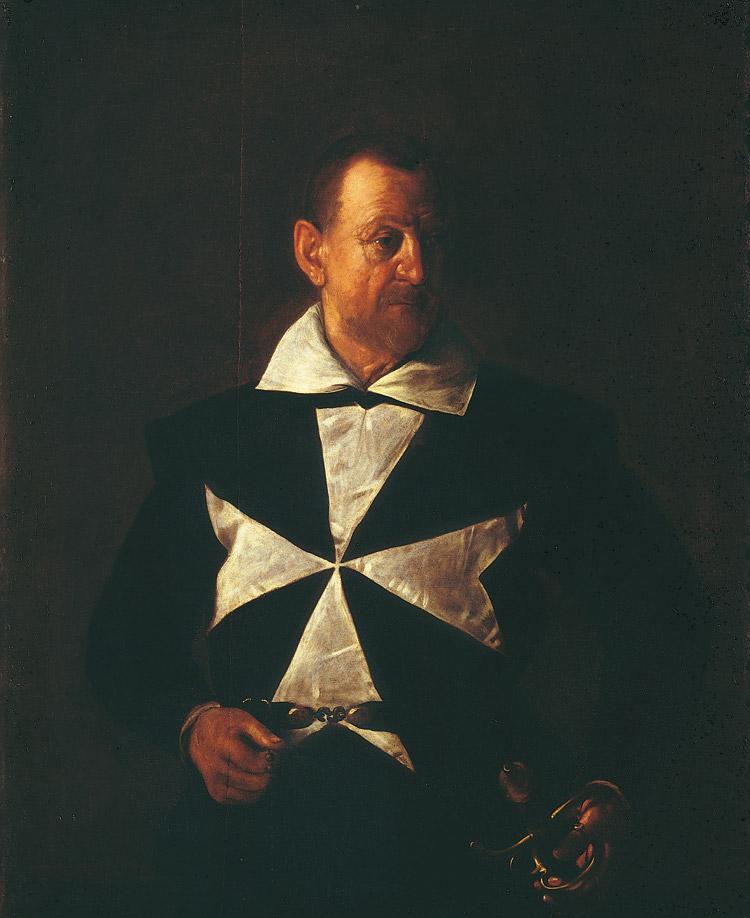 Caravaggio, Ritratto di un cavaliere di Malta