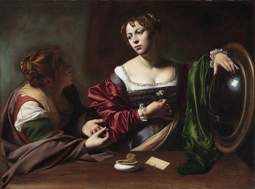 Caravaggio, Marta e Maddalena