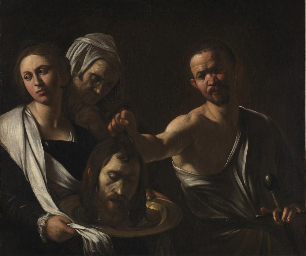 Caravaggio, Salomè con la testa del Battista