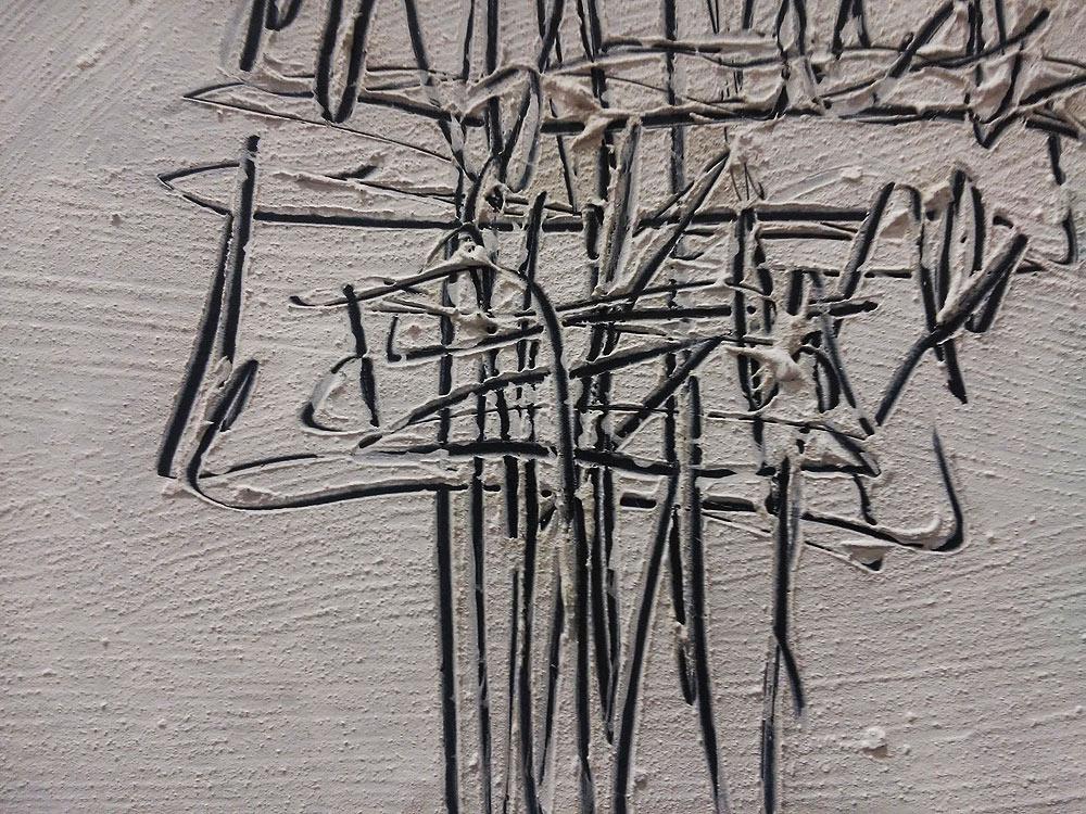 Achille Perilli, Studio, dettaglio