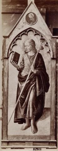 Zanobi Machiavelli, San Jacopo (1463; tavola, 164,5 x 63 cm; Berlino, Staatliche Museen)