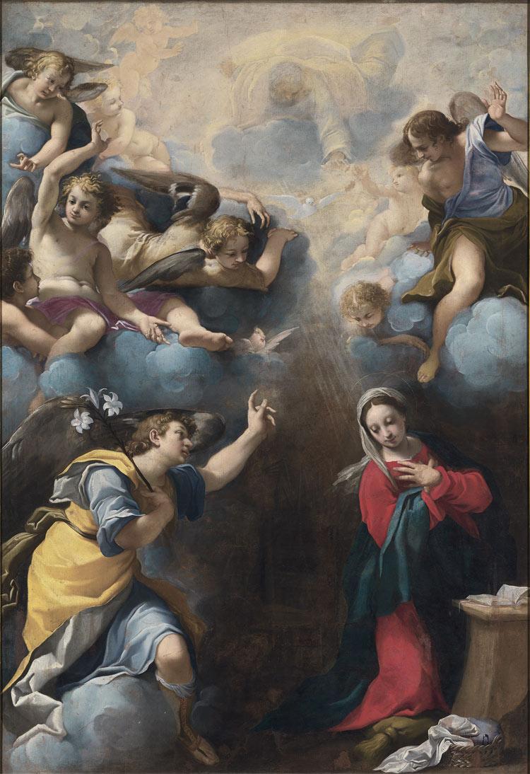 Carlo Bononi, Annunciazione