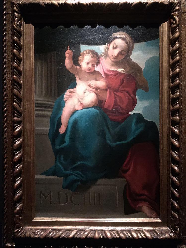 Carlo Bononi, Madonna col Bambino