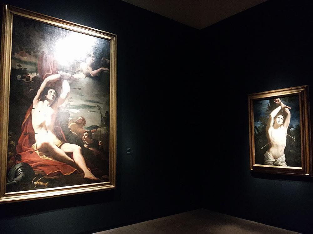 Confronto tra Guido Reni e Carlo Bononi
