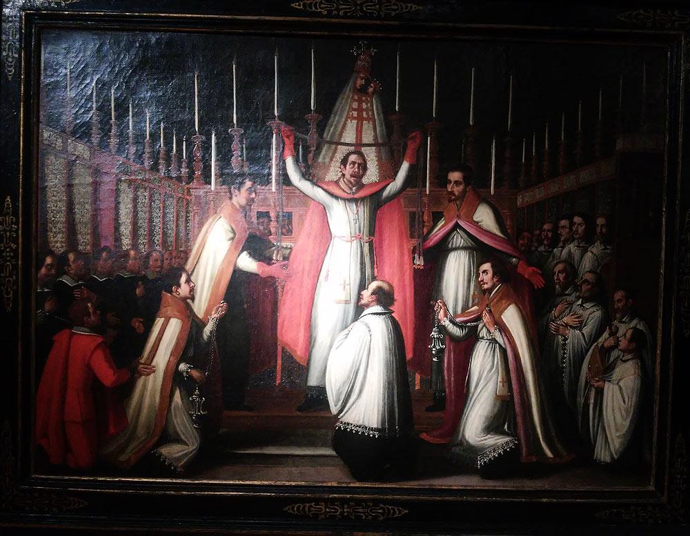 Giovanni Pietro Naldini, Ostensione della sacra cintola