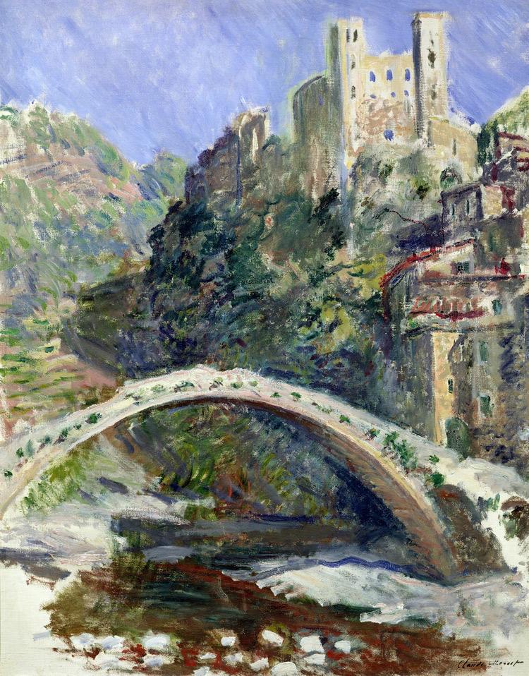 Claude Monet, Il castello di Dolceacqua