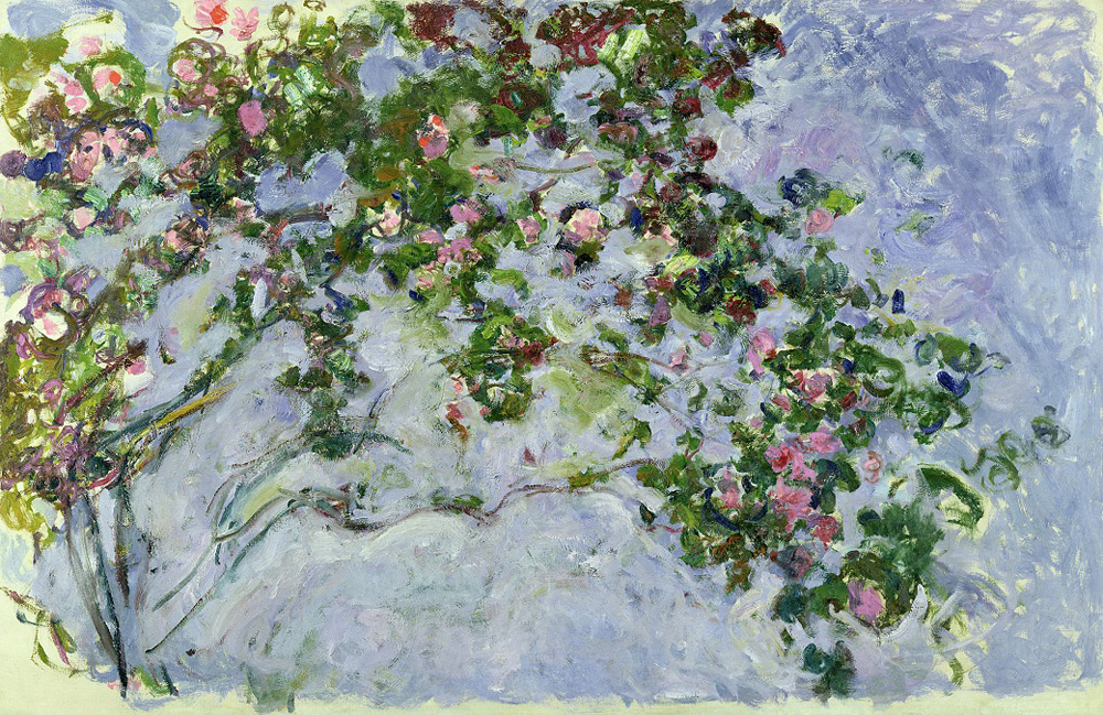 Claude Monet, Le rose