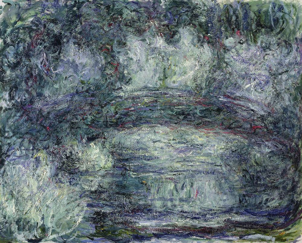 Claude Monet, Il ponte giapponese