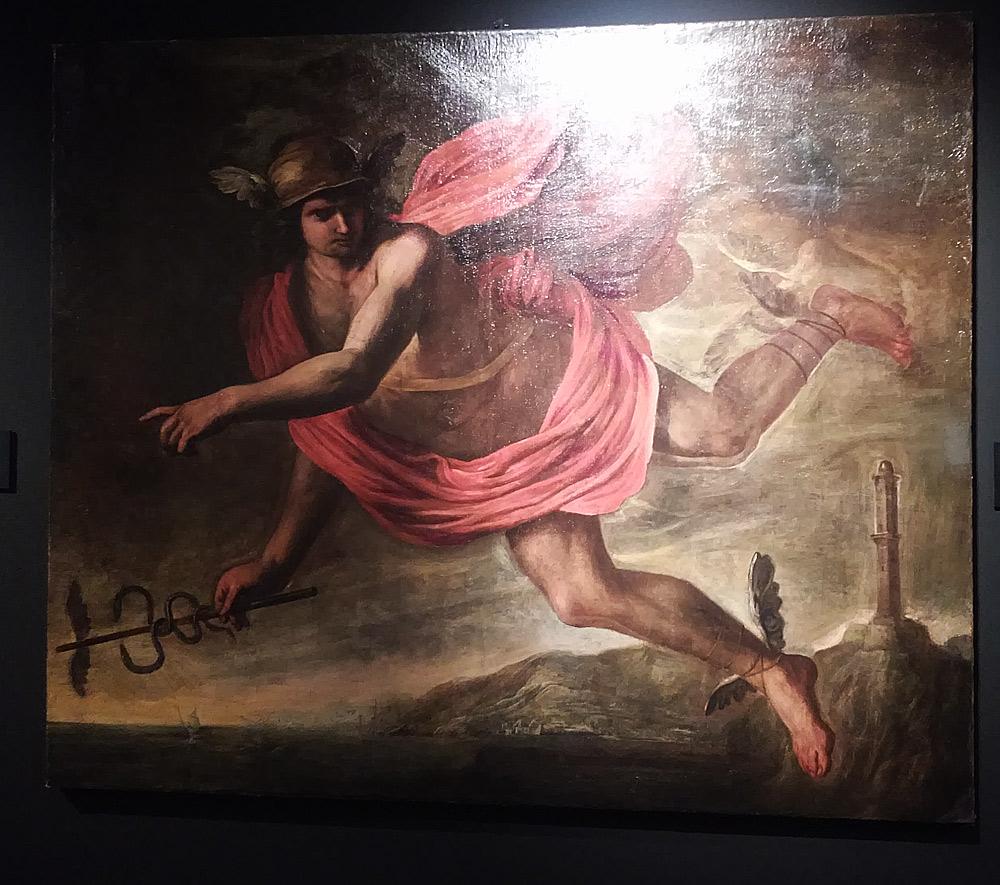 Giovanni Battista Carlone, Mercurio come genio ligustico