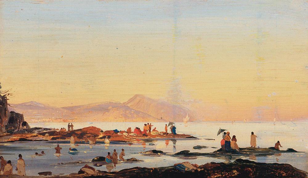 Ippolito Caffi, Bagno delle donne
