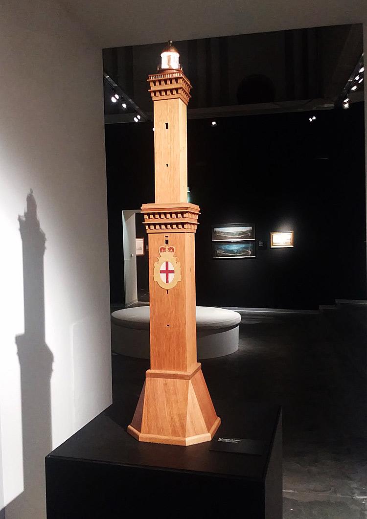 Modellino della Lanterna di Genova