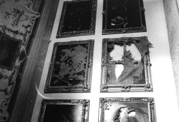 Uffizi, la devastazione causata dalle bombe della strage dei Georgofili