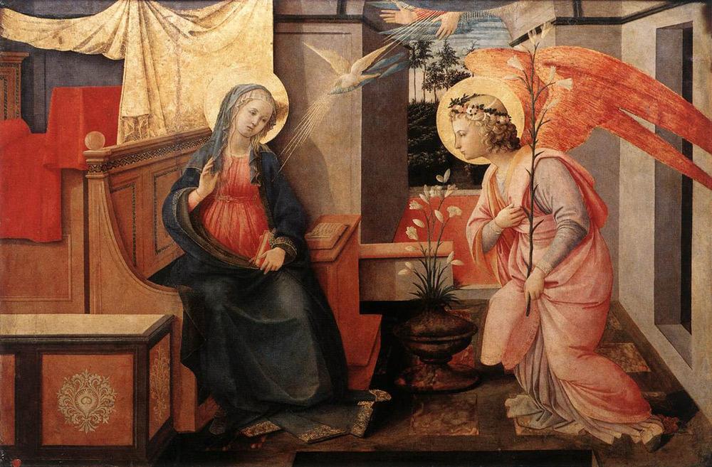 Filippo Lippi, Annunciazione Doria