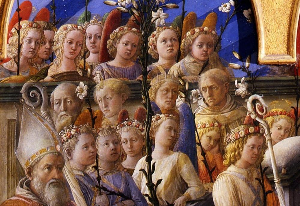 Filippo Lippi, Incoronazione della Vergine detta Incoronazione Maringhi