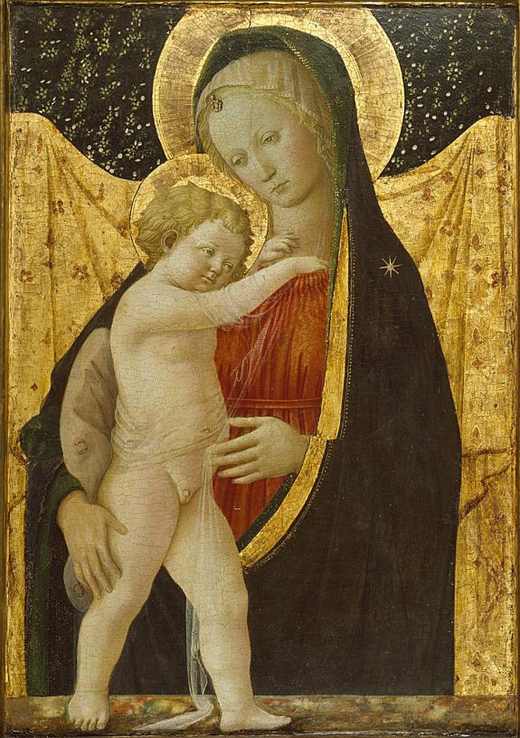 Filippo Lippi, Madonna col Bambino di Baltimora