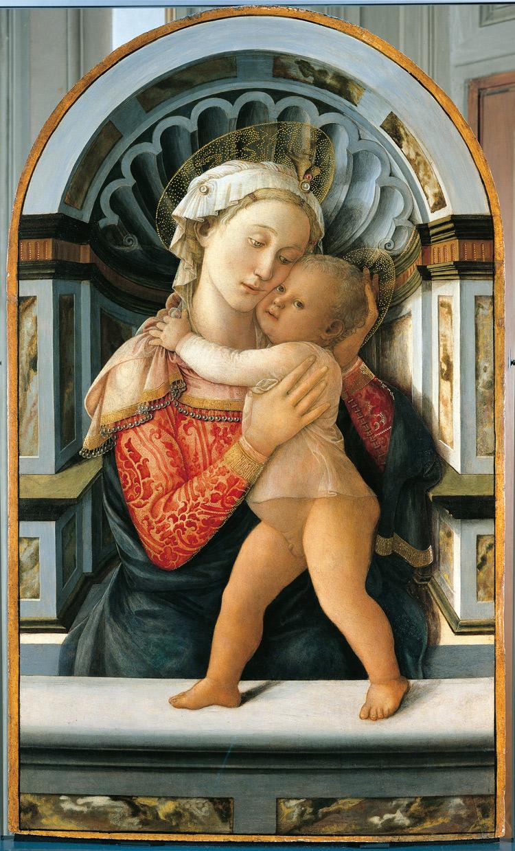 Filippo Lippi, Madonna col Bambino di Palazzo Medici-Riccardi