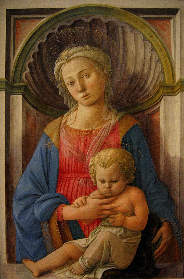 Filippo Lippi, Madonna col Bambino di Washington