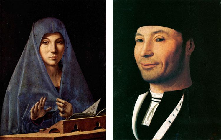 Antonello da Messina, Annunciata e Ritratto d'ignoto marinaio