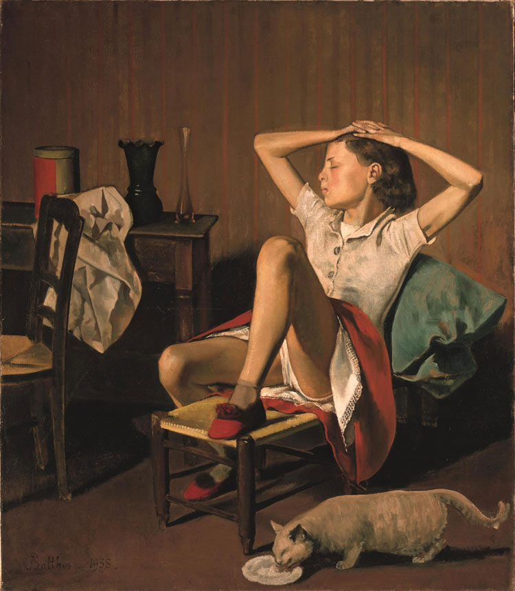 Balthus, Thérèse Dreaming