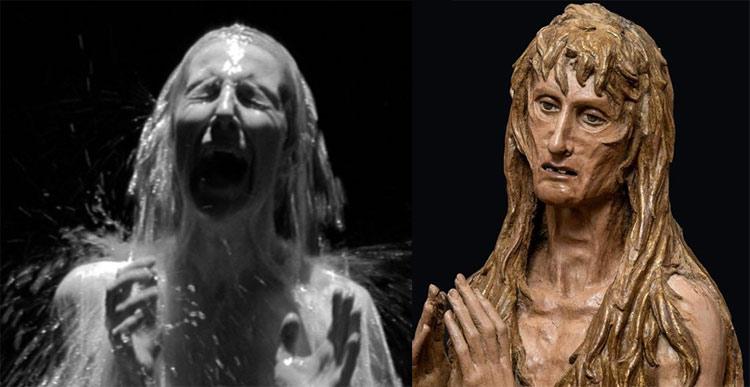 Acceptance di Bill Viola e Maddalena di Donatello