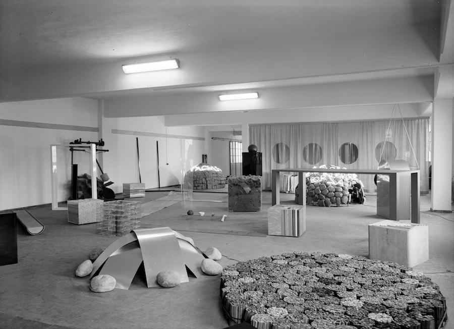Il Deposito d'Arte Presente del 1967-1968