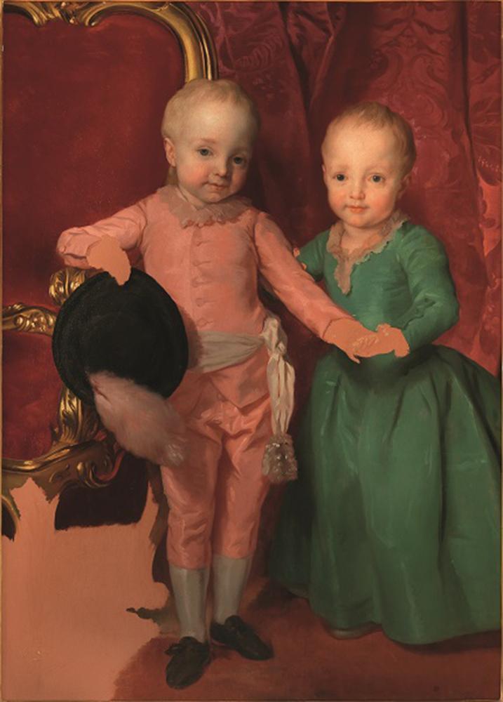 I principini ritratti da Anton Raphael Mengs in mostra agli Uffizi