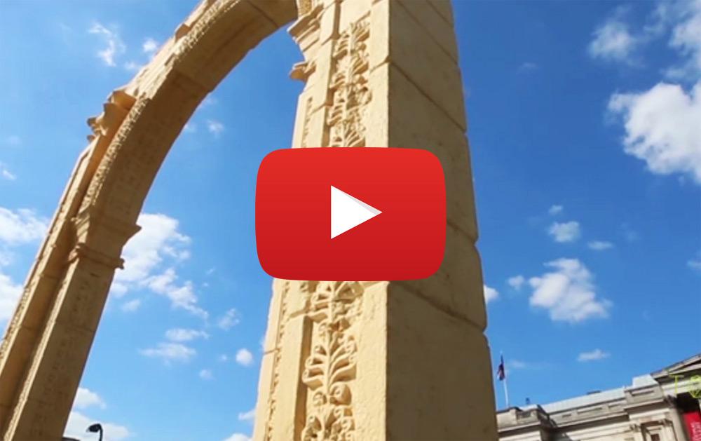 L'Arco di Palmira rivive a Firenze per il primo G7 della cultura