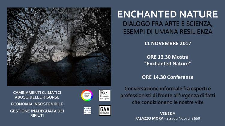 Arte e disastri ambientali: una conferenza a Venezia