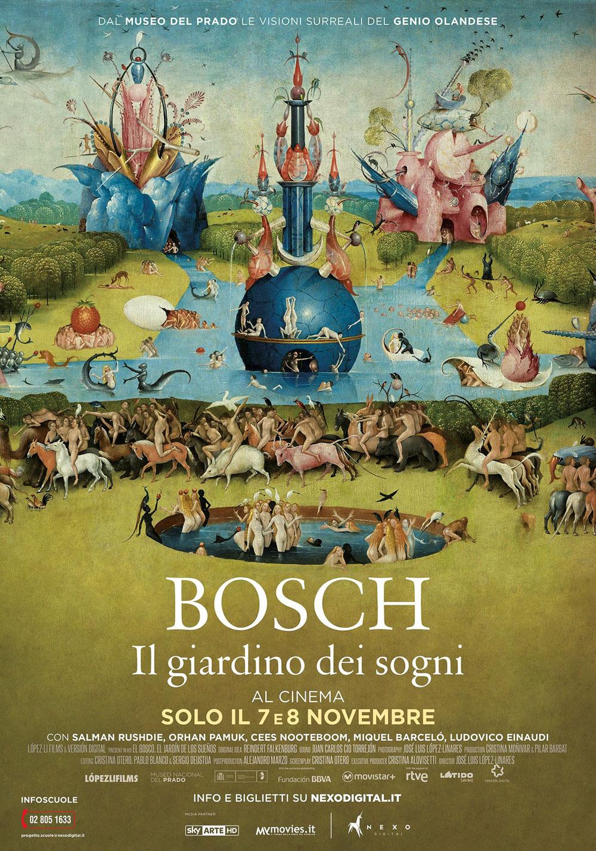 Bosch. Il giardino dei sogni: il 7 e l'8 novembre al cinema