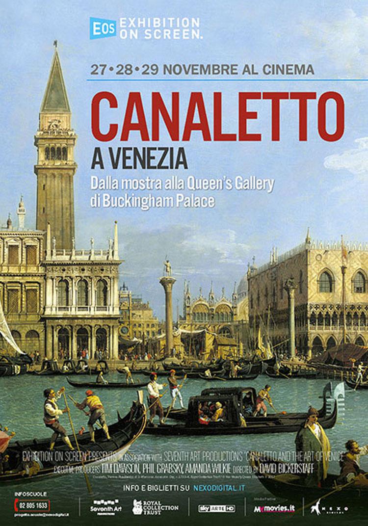 La Grande Arte al Cinema: film evento Canaletto a Venezia